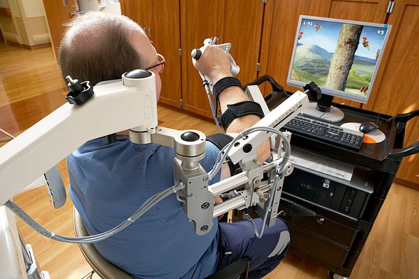 gaming and robotic rehabilitation