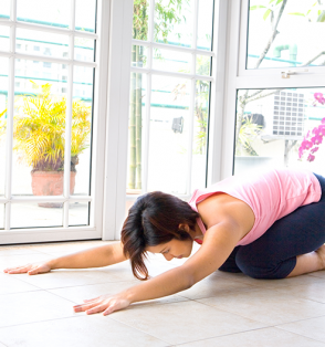 yoga lumbar exercise