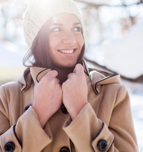 girl winter coat