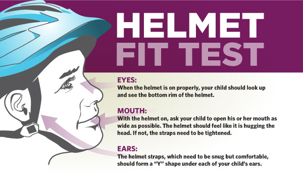 Helmet Fit Test | UPMC Healthbeat