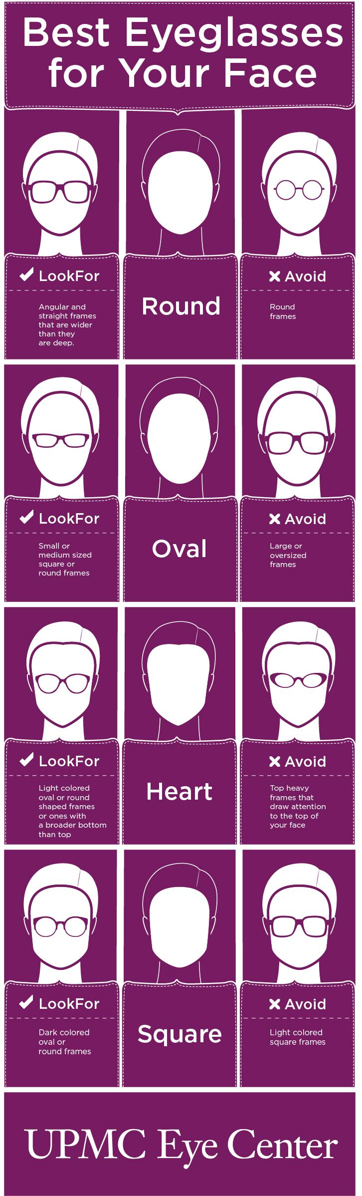 Eyeglasses for Face Shape | UPMC HealthBeat