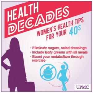 Health Tips for Women in Their 40s | UPMC HealthBeat