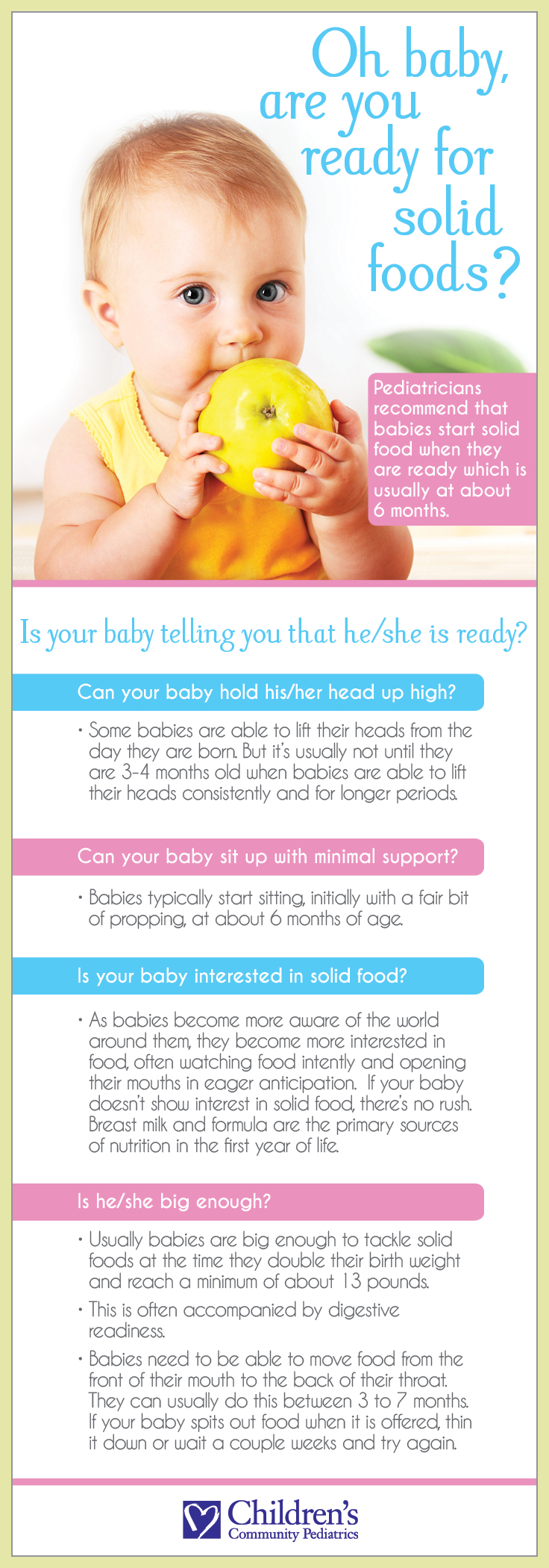 How to Tell If Your Baby is Ready for Solids