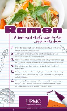 Learn these Ramen noodle hacks