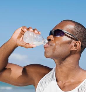 man-drinking-water