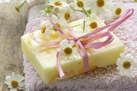 soap bar daisies