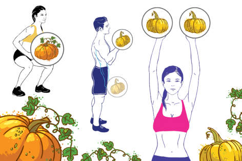 Pump Up Your Body With a Pumpkin Workout!