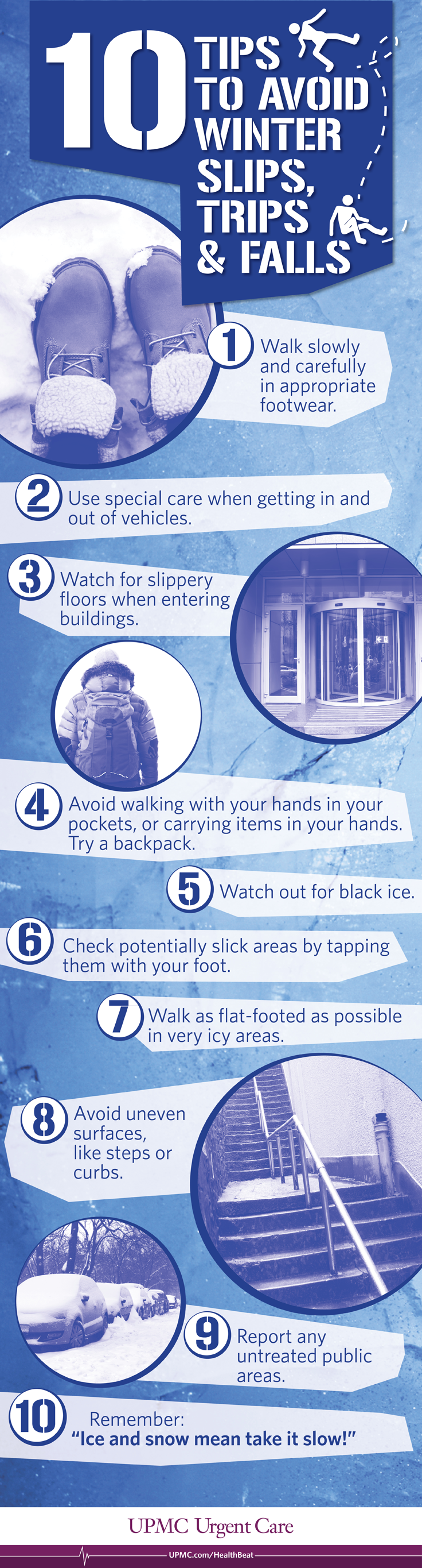 Tips to keep you safe and steady on your feet this summer.