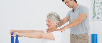 physical therapy shoulder exercise