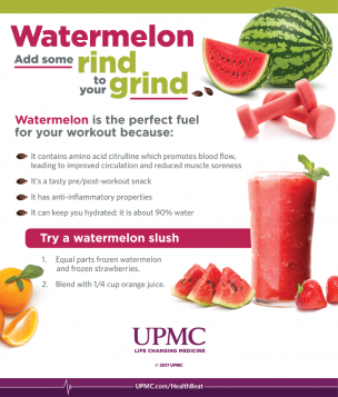 Learn more about the health benefits of watermelon