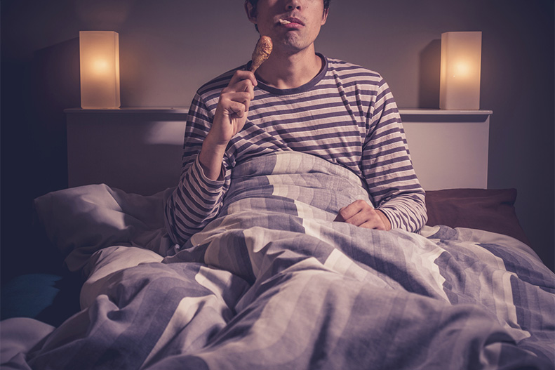 Is Eating or Snacking Before Bed Okay? | UPMC HealthBeat
