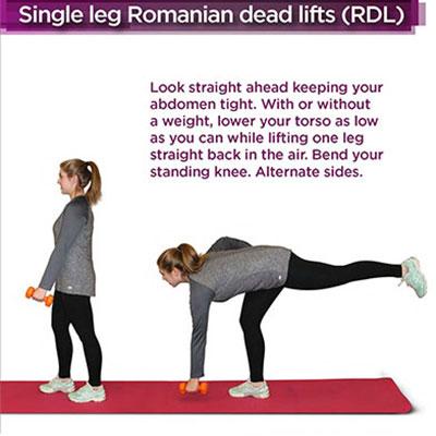 romanian dead lift