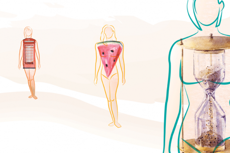 Infographic: What Your Body Shape Says About Your Health