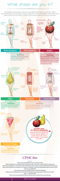 body shapes infographic