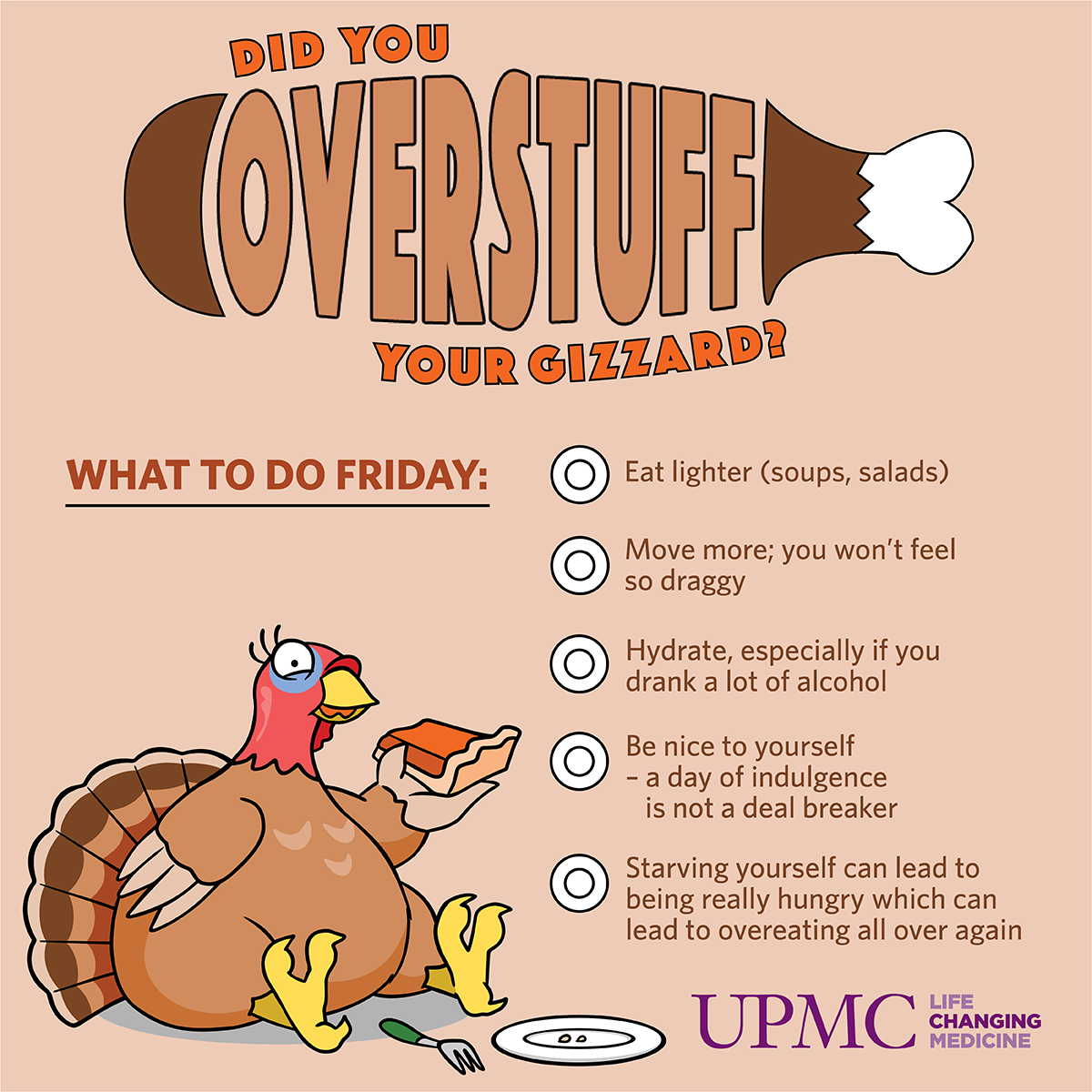 overstuff thanksgiving