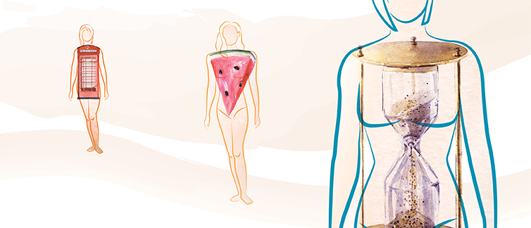 Infographic: What Your Body Shape Says About Your Health | UPMC