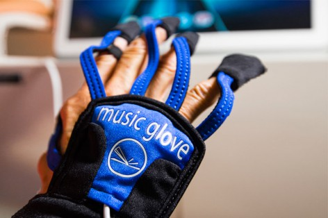 Music Glove for Hand Therapy