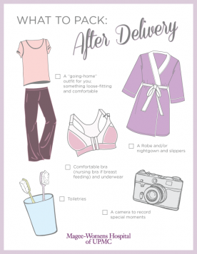 what to pack after delivery