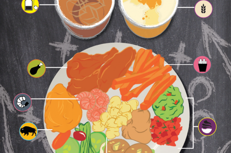 Infographic: Healthy Swaps for the Big Game