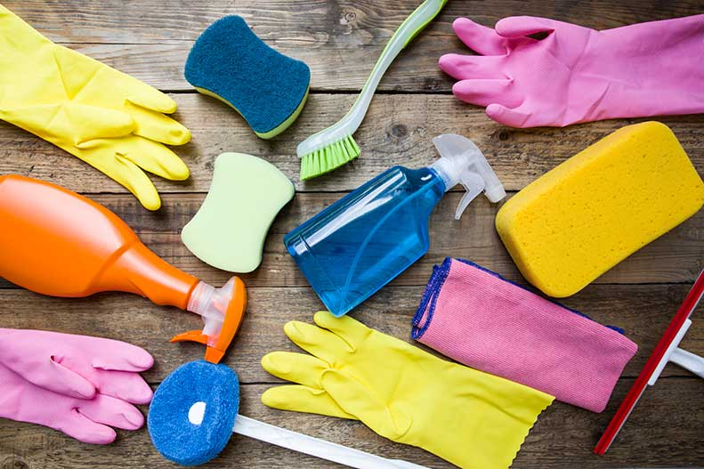 spring cleaning safety