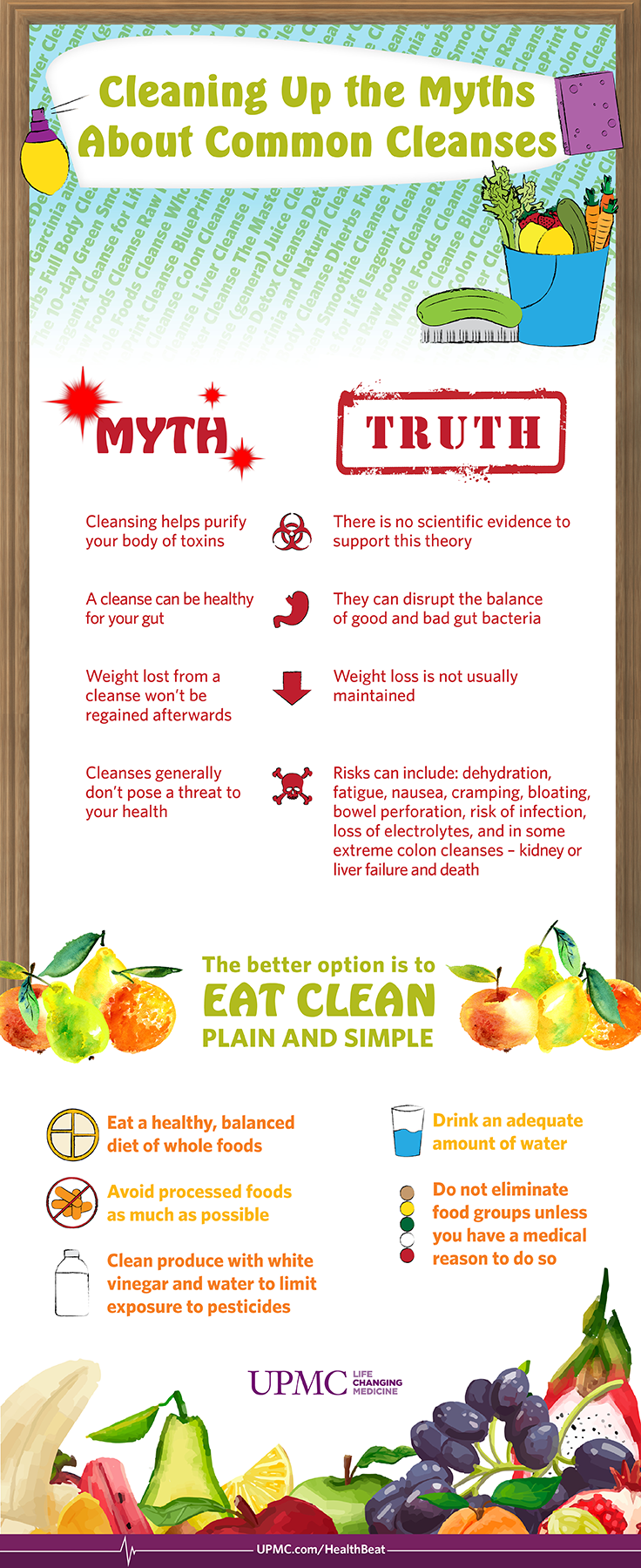 Cleanses Infographic