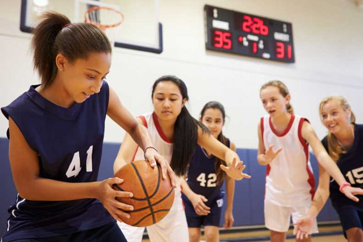 Learn more about common basketball injuries