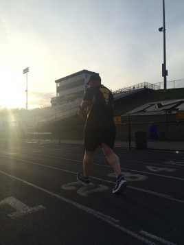 Mickey Marshall says cross training helped him improve his health.