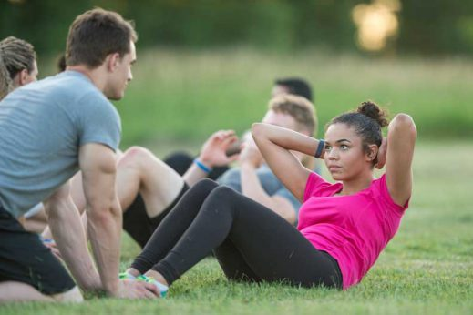 Do sit ups actually strengthen your abs?