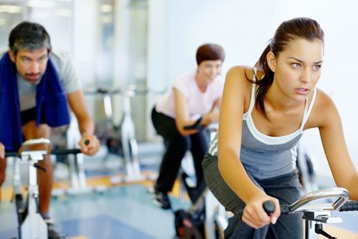 Find out how to maintain the right form in your next indoor cycling class