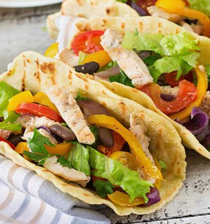 Heart-healthy Mexican food