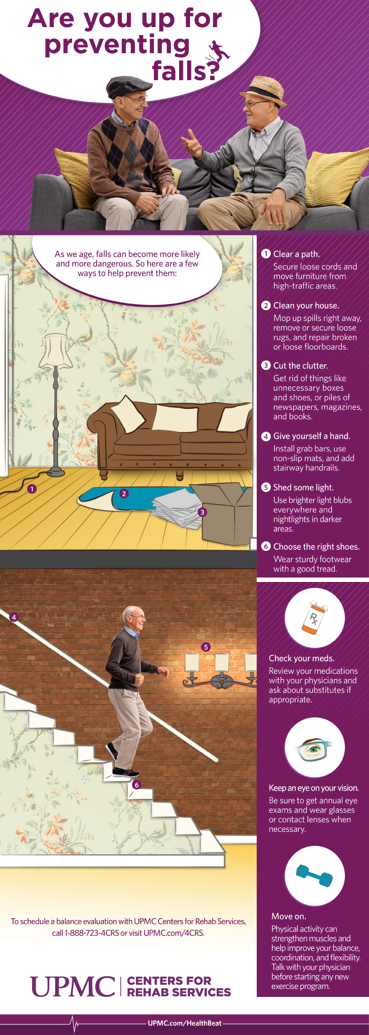 Learn more about preventing falls