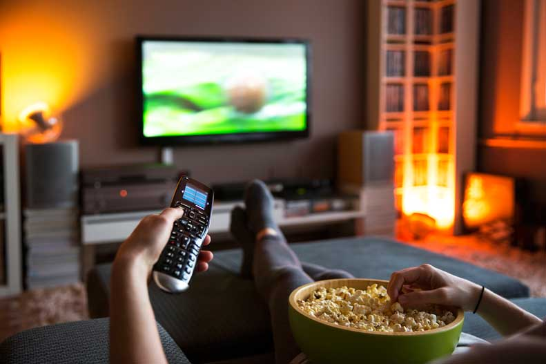Is binge watching TV bad for your health?