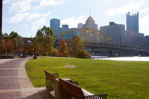 Learn more about the benefits of walking in Pittsburgh