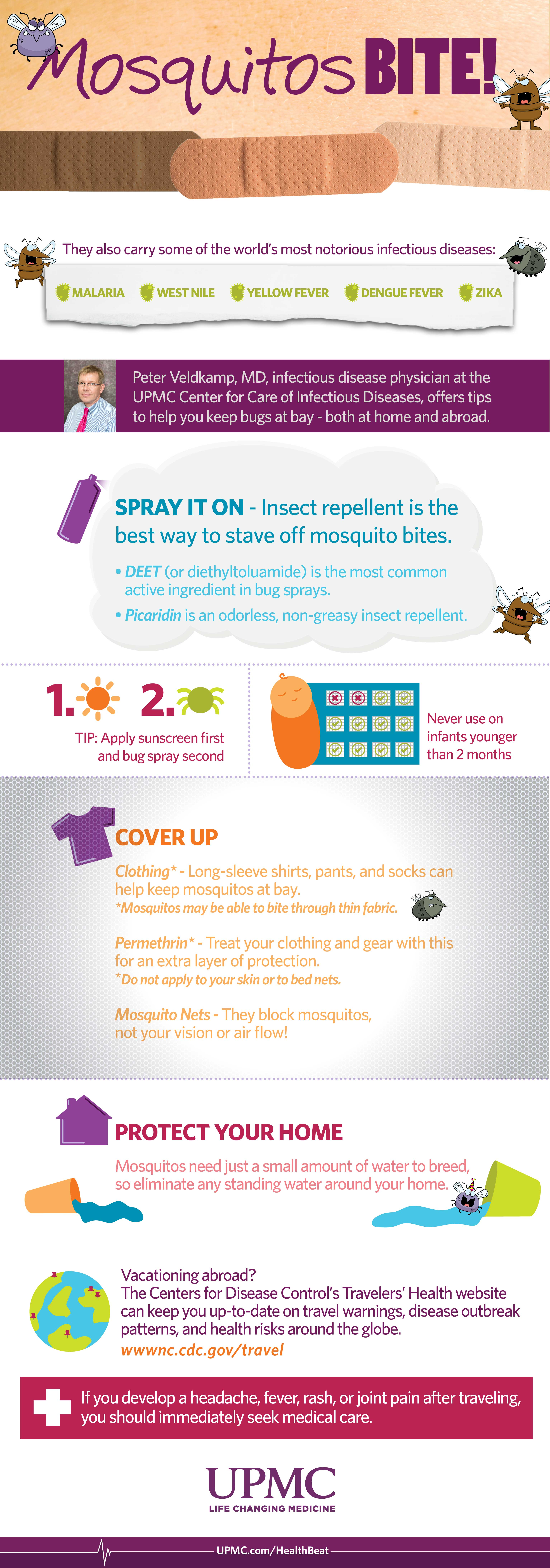 Learn more about how you can prevent pesky mosquito bites