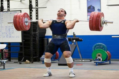How One Weightlifter Got Back in the Game