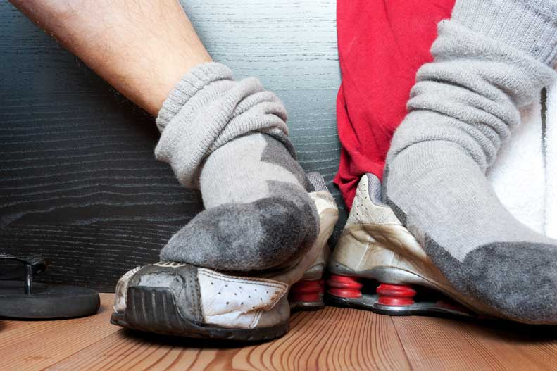 Learn more about the causes of foot odor