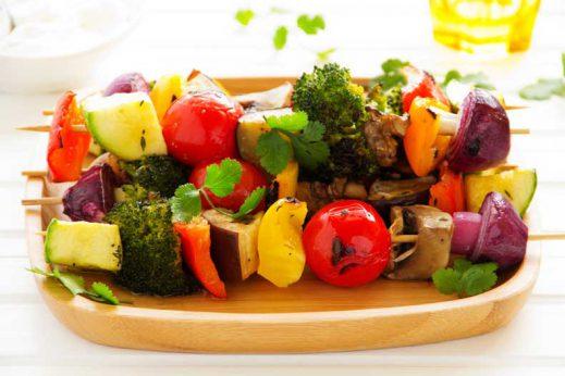 Healthy kebab recipe