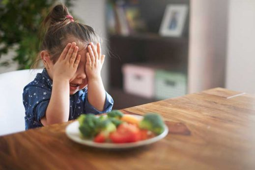 Here are a few tips on how to get your kid to eat vegetables