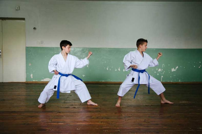 Learn more about the health benefits of martial arts