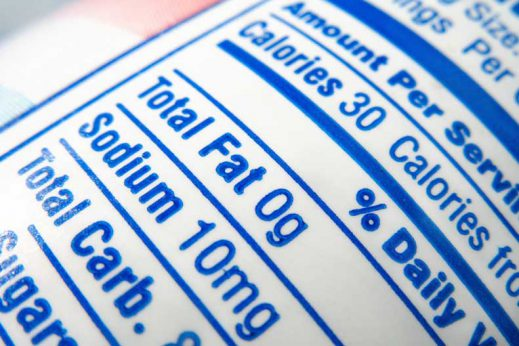 We've got a few tips on cutting sodium out of your diet.