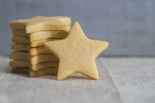 Find our healthy star cookie recipe