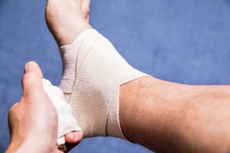 Here's How to Wrap an Ankle Sprain in a Few Easy Steps