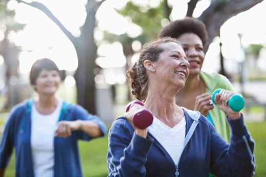 Learn about the connection between exercise and osteoporosis