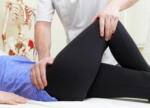 Learn more about therapy after hip surgery