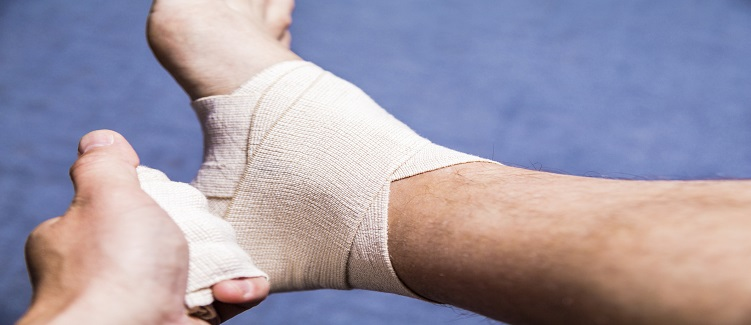 How To Wrap An Ankle Sprain Upmc Healthbeat