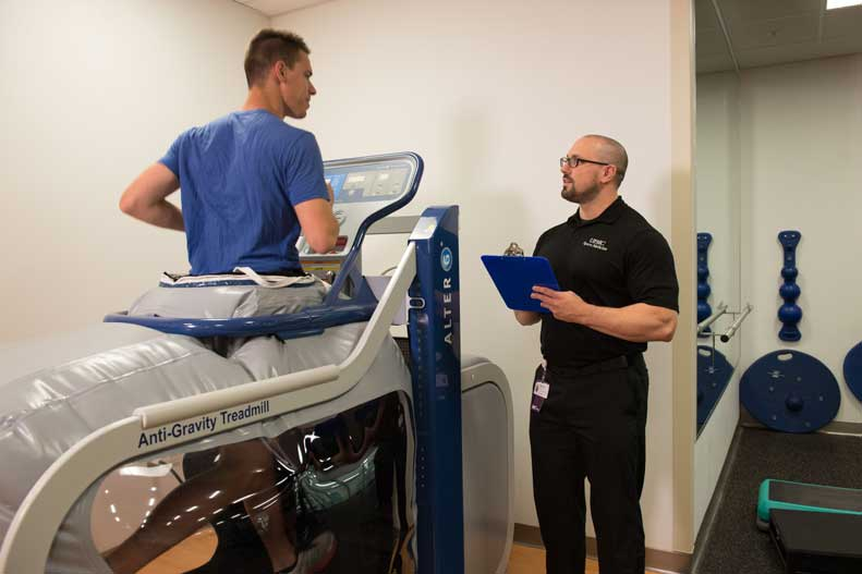 Learn more about how anti-gravity treadmills aid in your rehabilitation
