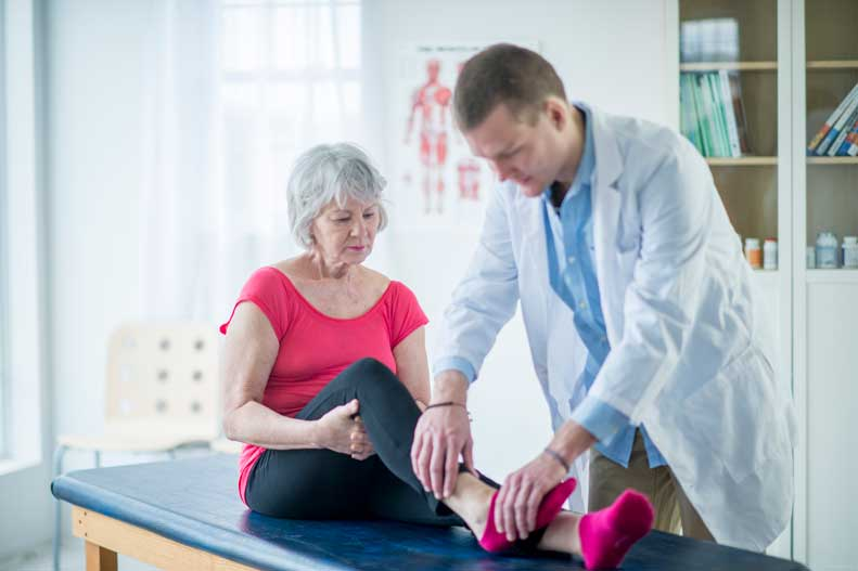 Learn about how broken ankles are treated