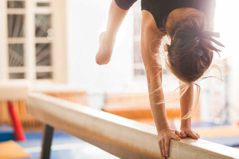 Learn more about common gymnastics injuries