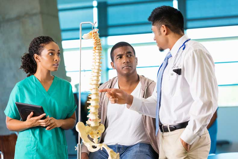 Learn about the different levels of spinal cord injury