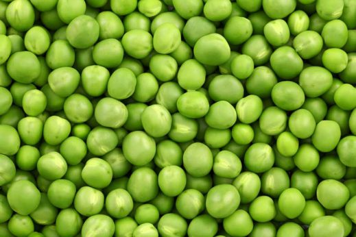 Peas are a healthy food